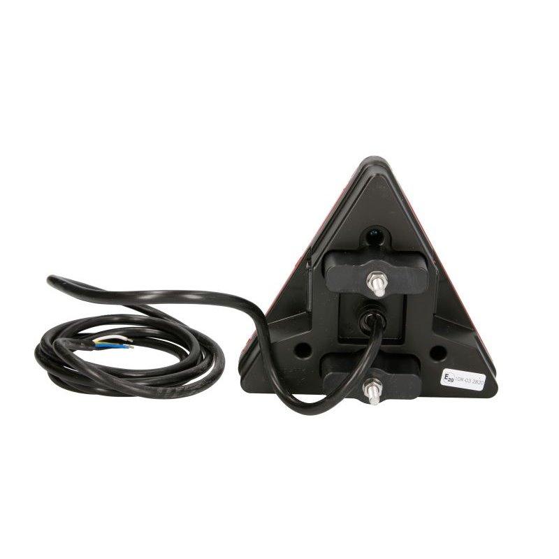 SET 2 FARURI LED PENTRU VW GOLF VII (2012-2016) ROSU LEDriving HALOGEN LEDHL103-GTI OSRAM